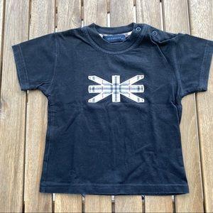 T shirt Burberry black 9 / 12 months